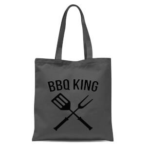 BBQ King Tote Bag - Grey
