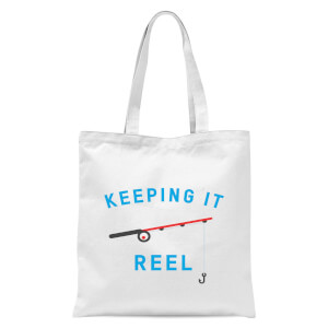 Keeping It Reel Tote Bag - White