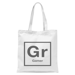 Periodic Gamer Tote Bag - White