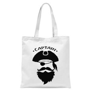 Captain Tote Bag - White
