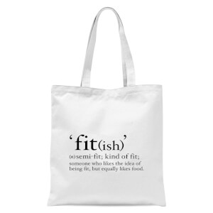 Fit (ish) Tote Bag - White
