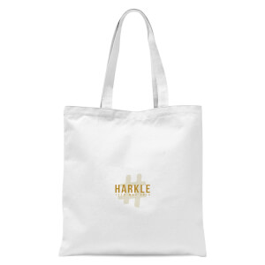#Harkle Tote Bag - White