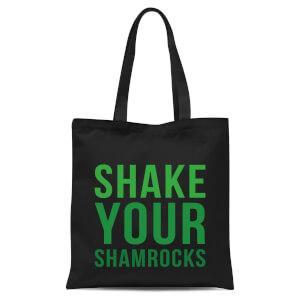 Shake Your Shamrocks Tote Bag - Black