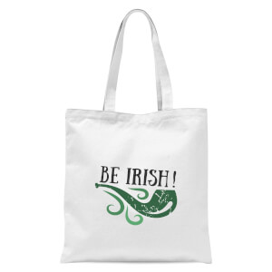 Be Irish Tote Bag - White