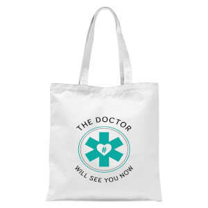 THE DOCTOR Tote Bag - White