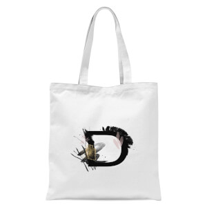 D Tote Bag - White