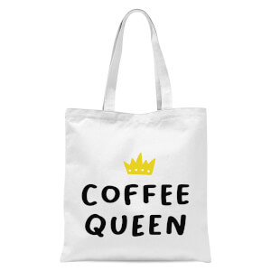 International Women's Day Coffee Queen Tote Bag - White