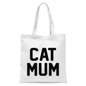 International Women's Day Cat Mum Tote Bag - White