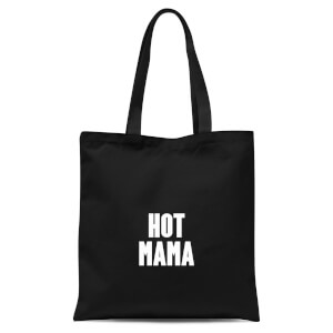International Women's Day Hot Mama Tote Bag - Black