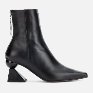 Yuul Yie Women's Amoeba Glam Heeled Boots - Black