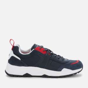 Tommy Hilfiger Men's Fashion Mix Chunky Trainers - RWB Navy