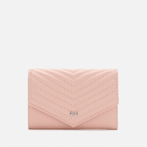 Ted Baker Women's Nourr Quilted Envelope Small Bifold Purse - Pink
