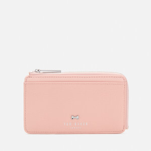Ted Baker Women's Lotta Bow Detail Credit Card Holder - Dusky Pink