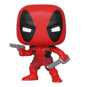 Marvel 80° Anniversario - Deadpool Figura Pop! Vinyl