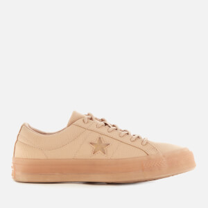 Converse Women's One Star Spacecraft Ox Trainers - Desert Khaki/White