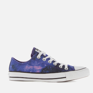 Converse Women's Chuck Taylor All Star Miss Galaxy Ox Trainers - Black/Court Purple/White
