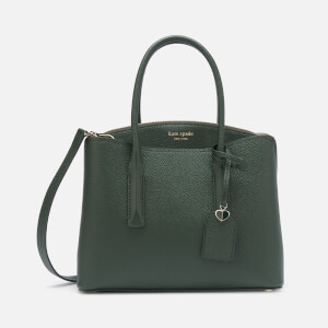 Kate Spade New York Women's Margaux Medium Satchel - Deep Evergreen