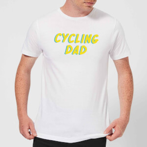 Cycling Dad Men's T-Shirt - White