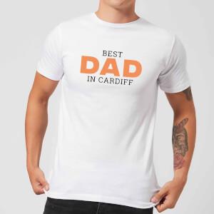 Best Dad In Cardiff Men's T-Shirt - White