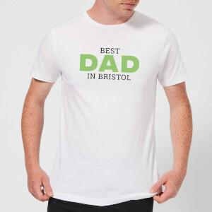 Best Dad In Bristol Men's T-Shirt - White