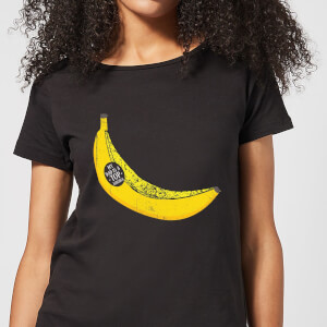 My Dad Is A Top Banana Women's T-Shirt - Black