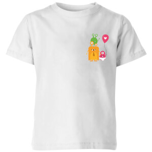 Monster Family Kids' T-Shirt - White