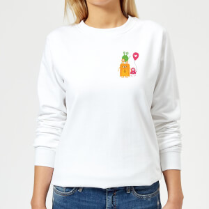 Monster Family Women's Sweatshirt - White