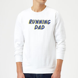 Running Dad Sweatshirt - White