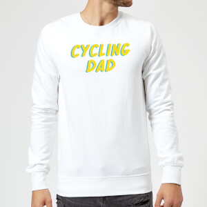 Cycling Dad Sweatshirt - White