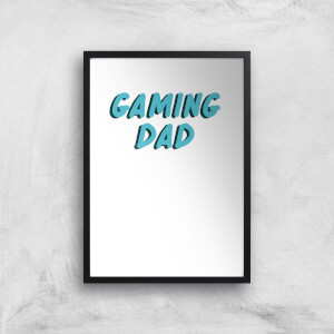 Gaming Dad Art Print