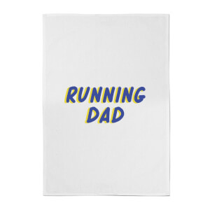 Running Dad Cotton Tea Towel