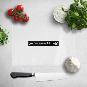You're A Crackin' Egg Chopping Board