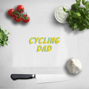 Cycling Dad Chopping Board