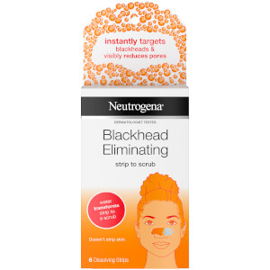 Neutrogena Blackhead Eliminating Strip to Scrub with Salicylic Acid (6 Strips)