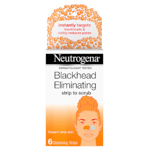 Neutrogena Blackhead Eliminating Strip to Scrub (6 Strips)