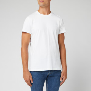 Balmain Men's Small Signature T-Shirt - Blanc