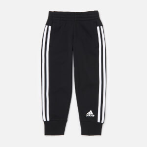 adidas Girls' Young Girls 3 Stripe Pants - Black