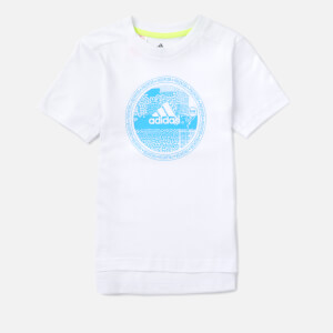 adidas Boys' Young Boys Predator T-Shirt - White