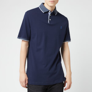 Joules Men's Hanfield Polo Shirt - French Navy