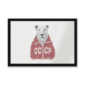 CCCP Lion Entrance Mat