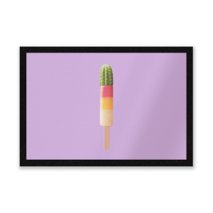 Cactus Ice Pop Entrance Mat