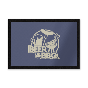Beer & BBQ Entrance Mat