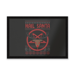 Hail Santa Entrance Mat