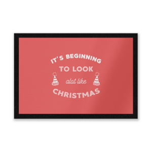It's Beginning To Look A Lot Like Christmas Entrance Mat
