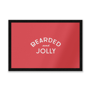 Bearded And Jolly Entrance Mat