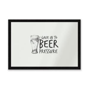 Beer Pressure Entrance Mat