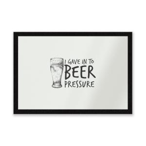 Beer Pressure Entrance Mat