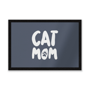 Cat Mom Entrance Mat