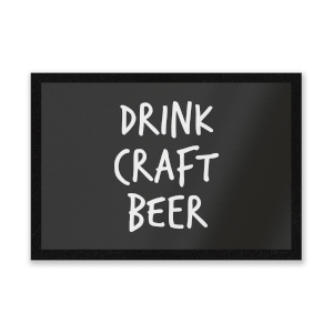 Drink Craft Beer Entrance Mat