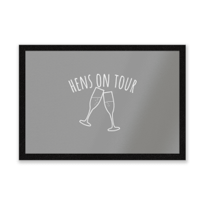 Hen's On Tour Entrance Mat